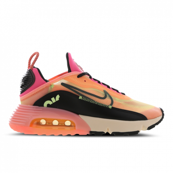 Nike Womens Nike Air Max 2090 - Womens Shoes Volt/Black/Pink Size 09.5 - CT1290-700
