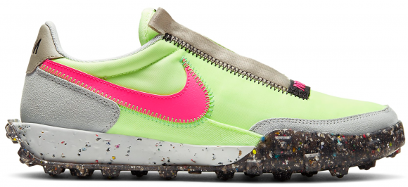 Nike Waffle Racer Crater Barely Volt (W) - CT1983-700