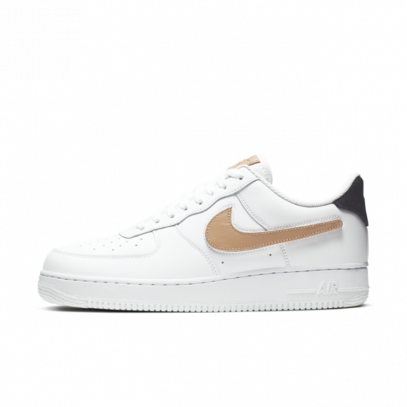 Nike Air Force 1 Low Removable Swoosh Pack White Vachetta Tan - CT2253-100