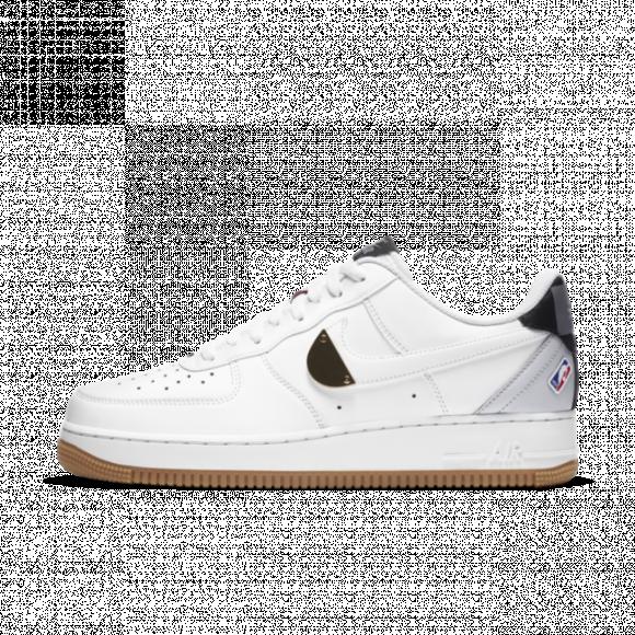 Nike Air Force 1 Low NBA White Grey Gum - CT2298-100