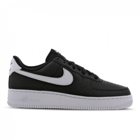 Mens Nike Air Force 1 '07 - Black, Black - CT2302-002