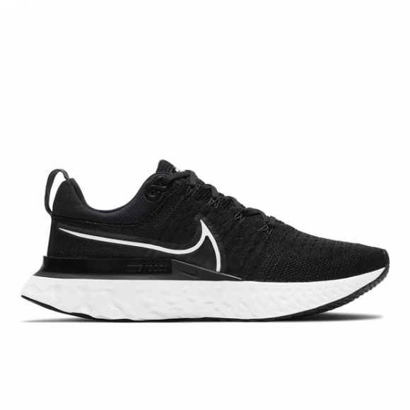Nike React Infinity Run Flyknit 2 Women's Running Shoe - Black - CT2423-002