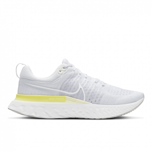 Nike React Infinity Run Flyknit 2 Women's Running Shoe - White - CT2423-100