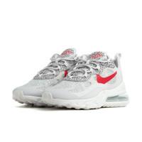Nike Air Max 270 React Safari Grey Red - CT2535-001