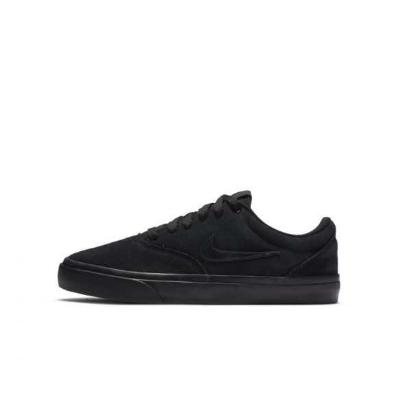 Chaussure de skateboard Nike SB Charge pour Enfant plus âgé - Noir ...