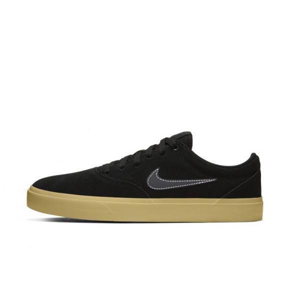 Nike SB Charge Suede Skate Shoe - Black - CT3463-004