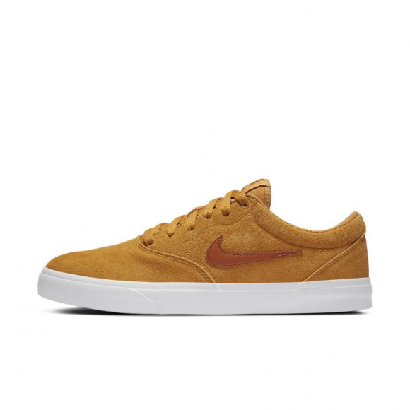 Chaussure de skateboard Nike SB Charge Suede - Jaune - CT3463-700