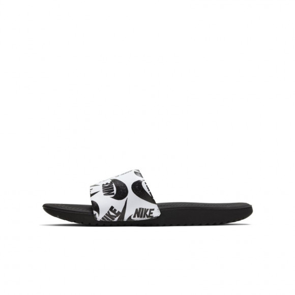 Nike Boys Nike Kawa Slide - Boys' Grade School Shoes White/Black/Multi Size 07.0 - CT6619-100