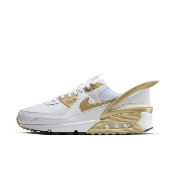 Nike Air Max 90 Flyease White Gold - CU0814-100