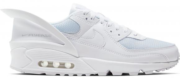Nike Air Max 90 Flyease Triple White - CU0814-102
