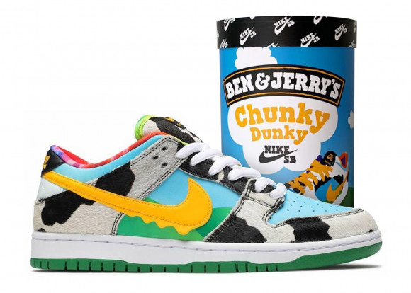 Nike SB Dunk Low Ben & Jerry's Chunky Dunky (F&F Packaging) - CU3244-100