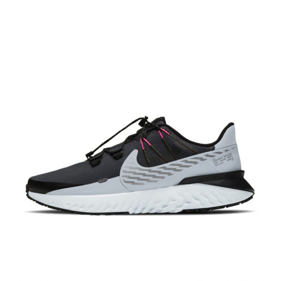 Nike Legend React 3 Shield Men's Running Shoe - Black - CU3864-010