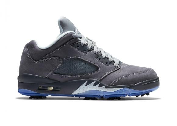Jordan 5 Golf Low Wolf Grey - CU4523-005
