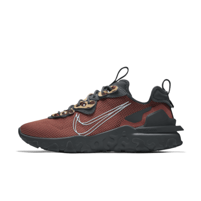 Chaussure lifestyle personnalisable Nike React Vision By You ...