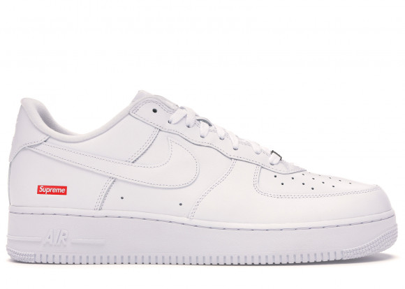 Nike Air Force 1 Low Supreme White - CU9225-100