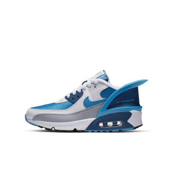 Chaussure Nike Air Max 90 FlyEase pour Enfant plus âgé - Blanc ...
