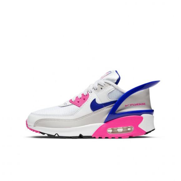 Chaussure Nike Air Max 90 FlyEase pour Enfant plusâgé - Blanc ...