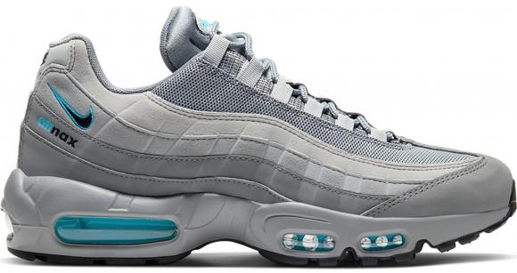 Nike Air Max 95 Retro Logo Grey Aqua