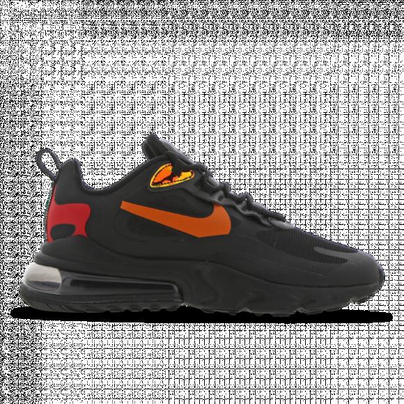 Nike Mens Nike Air Max 270 React Mens Running Shoes Black Magma