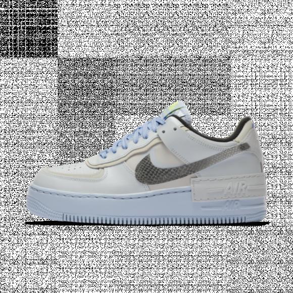 Chaussure Nike Air Force 1 Shadow pour Femme - Argent - CV3027-001