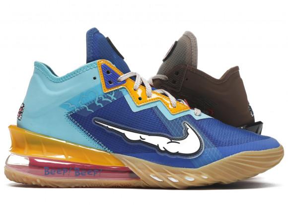 Nike Lebron 18 Low Wile E. vs Roadrunner Space Jam - CV7562-401/CV7564-401