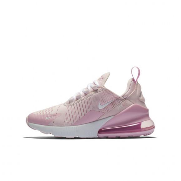 Nike Air Max 270 Gs Pink Foam White Pink Rise Cv9645 600