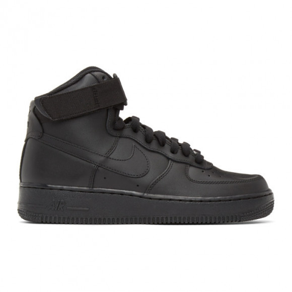 Nike Air Force 1 High '07 Men's Shoes (Black) - CW2290
