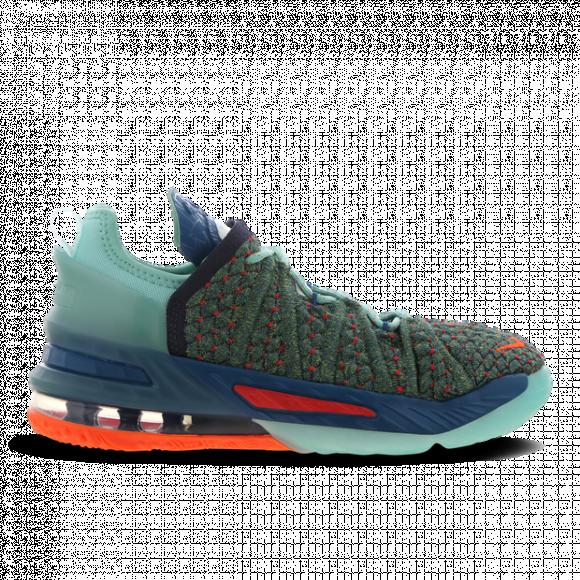Nike Lebron Xviii (Gs), Green Abyss/Hyper Crimson-Tropical Twist - CW2760-300