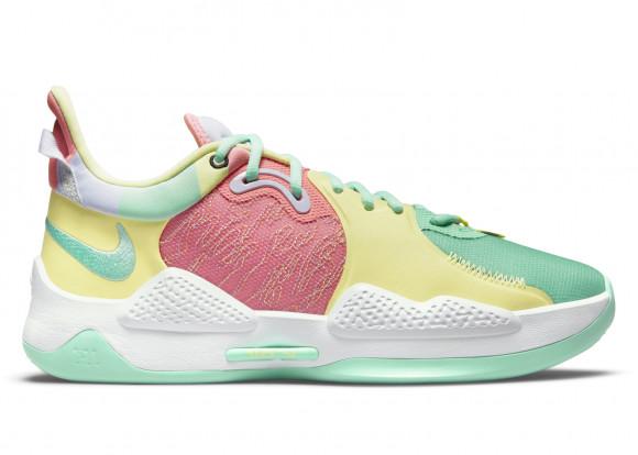 Nike PG 5 Daughters Green Glow - CW3143-301/CW3146-301