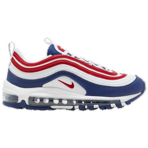 Nike Air Max 97 - Boys' Grade School Running Shoes - White ...