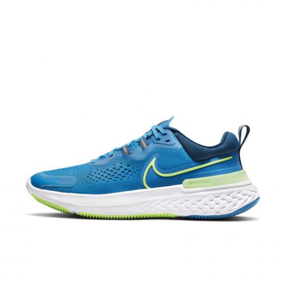 Nike React Miler 2 Men's Road Running Shoes - Blue - CW7121-402