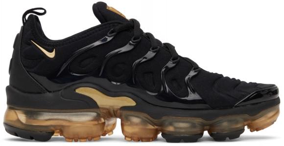 Nike Air VaporMax Plus Black Metallic Gold