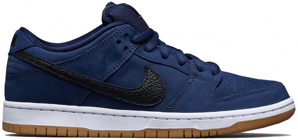 Nike Dunk Low Pro ISO SB 'Navy Gum' Midnight Navy/White/Gum Sneakers/Shoes CW7463-401 - CW7463-401