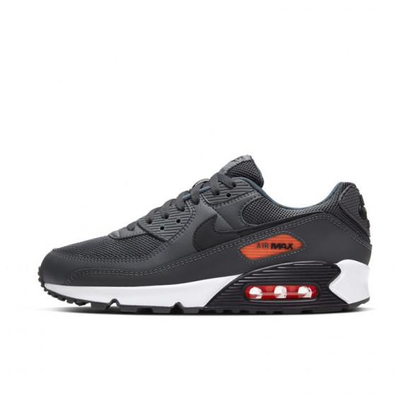 Nike Air Max 90 Homme - Only at JD - Grey/Black/Orange, Grey/Black ...