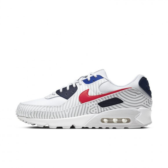 Nike Air Max 90 Men's Shoe - White - CW7574-100
