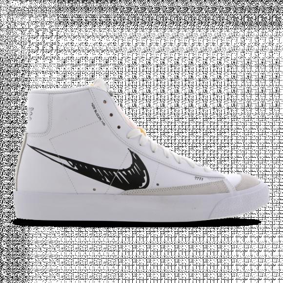 Nike Blazer Mid Premium Vintage Suede, White - CW7580-101