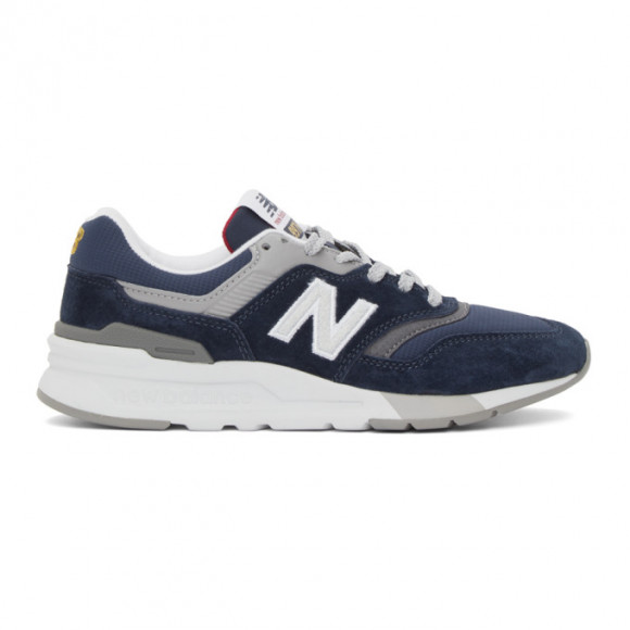 New Balance Navy 997H Sneakers - CW997HBJ