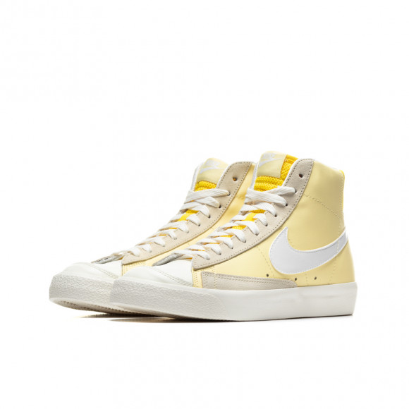 Chaussure Nike Blazer Mid'77 pour Femme - Jaune - CZ0363-700