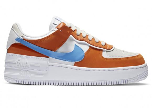 Nike WMNS Air Force 1 Shadow White Dark Orange (2020) - CZ0365-100