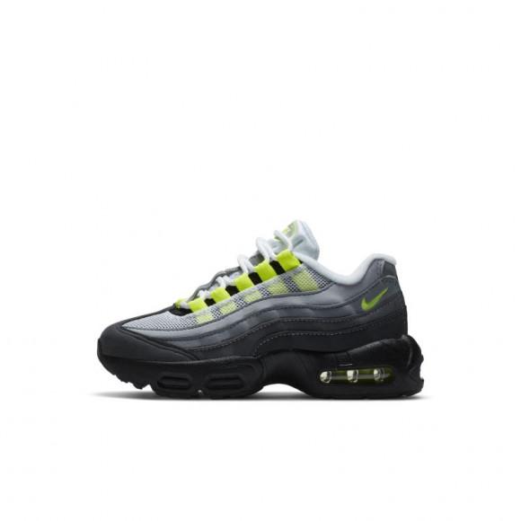 Chaussure Nike Air Max 95 OG Neon pour Jeune enfant - Noir ...