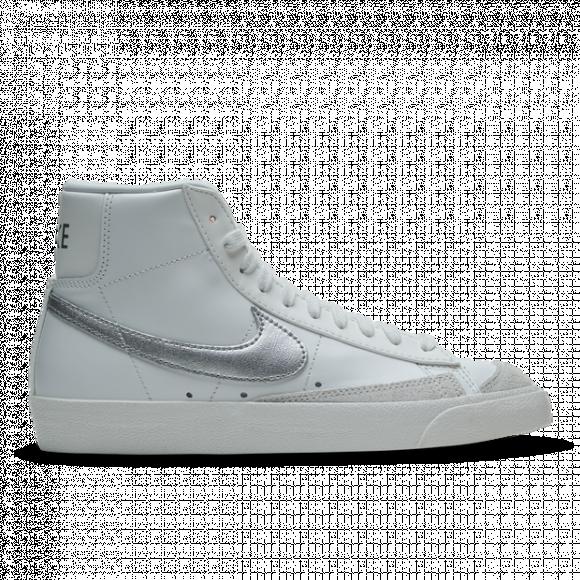 Nike Blazer Mid '77 Summit White Silver (W) - CZ1055-112