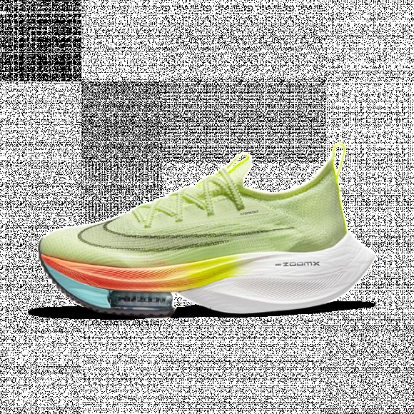 Nike Air Zoom Alphafly NEXT% Women's Racing Shoe - Yellow - CZ1514-700