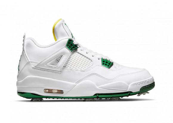 Jordan 4 Golf Metallic Green - CZ2439-100