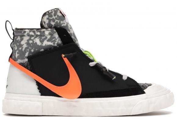 Nike READYMADE x Blazer Mid Black/Vast Grey/Volt/Total Orange Sneakers/Shoes CZ3589-001 - CZ3589-001