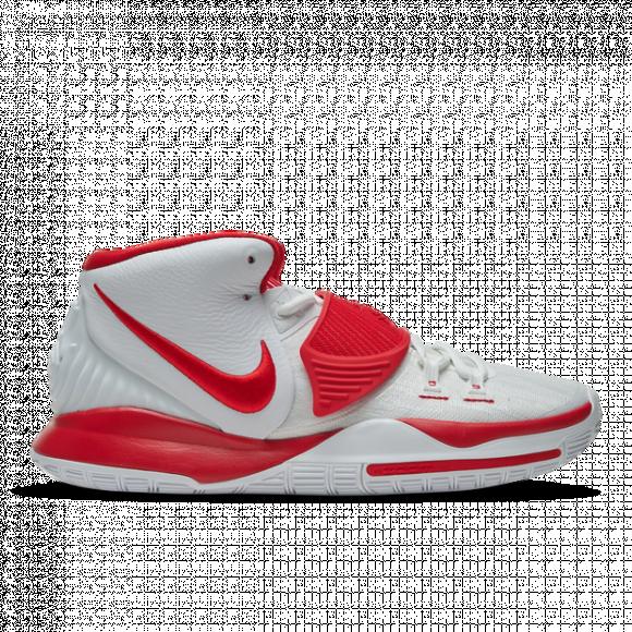 Nike Kyrie 6 White University Red - CZ4938-100