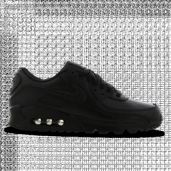 Nike Air Max 90 Leather Triple Black (2020) - CZ5594-001