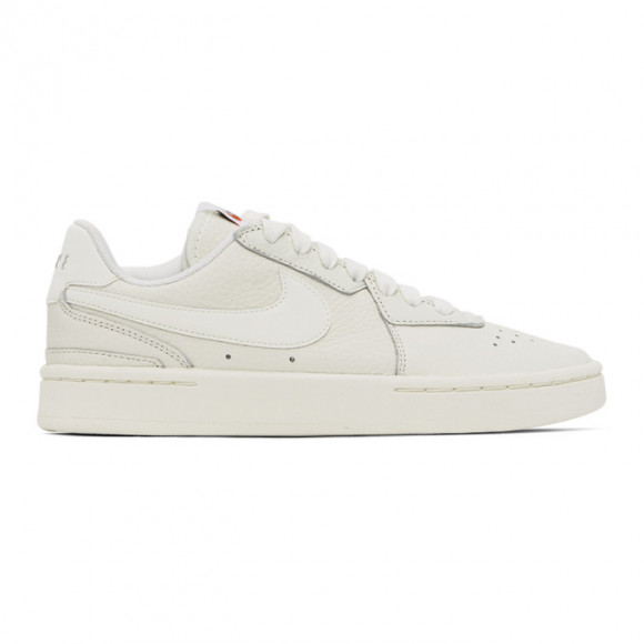 Nike SSENSE Exclusive Off-White Leather Court Blanc Sneakers - CZ5797-100
