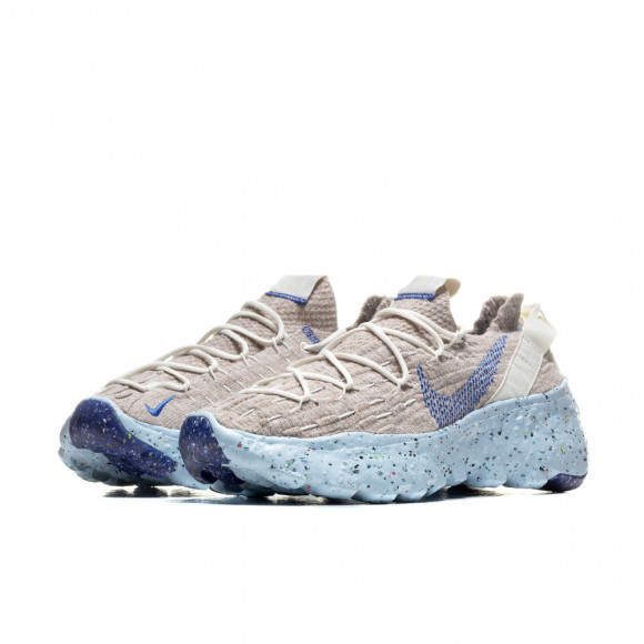 Nike Mens Nike Space Hippie 04 - Mens Shoes Sail/Astronomy Blue/Fossil Size 09.5 - CZ6398-101