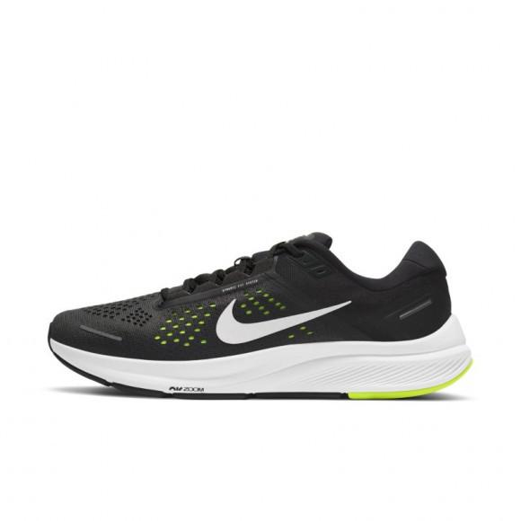 Nike Air Zoom Structure 23 Men's Running Shoe - Black - CZ6720-010