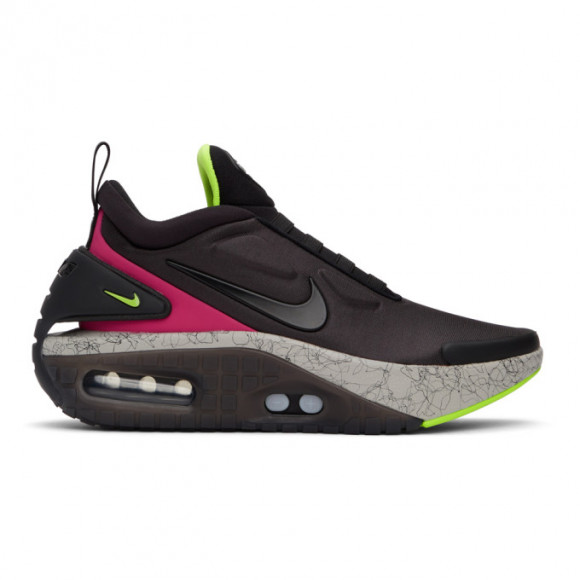 Nike Mens Nike Adapt Auto Max - Mens Running Shoes Black/Red/Green Size 9.5 - CZ6804
